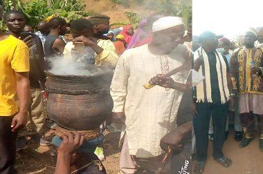 The Gwandara People Visits Awoworo at Dutsen-Alhaji, FCT – Abuja.